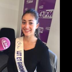 Laurie Cesaro Miss Lot-et-Garonne