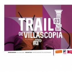 Jérôme Fillol pour le Trail Villascopia