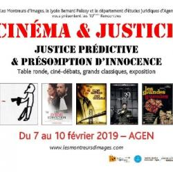 Laurent Bruneau pour Cinéma & Justice