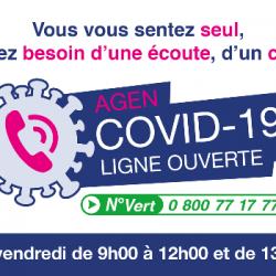 Covid19 : dispositif Ville d'Agen !