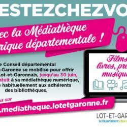 Covid19 : Sébastien et la Médiathèque Numérique