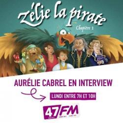 Aurélie Cabrel Zélie la Pirate