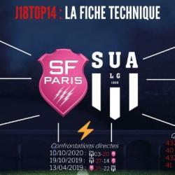 Avant SF-SUA (J18 Top14)